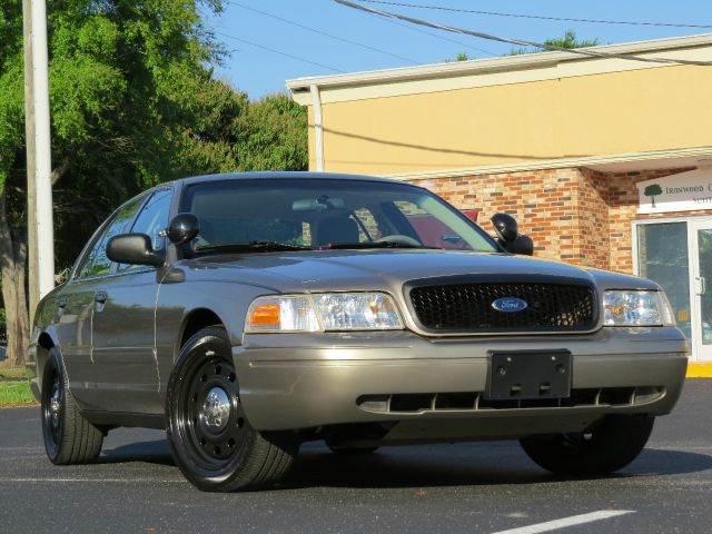 2008 Ford Crown Victoria Police Interceptor 4dr Sedan (3.27 Axle) In ...
