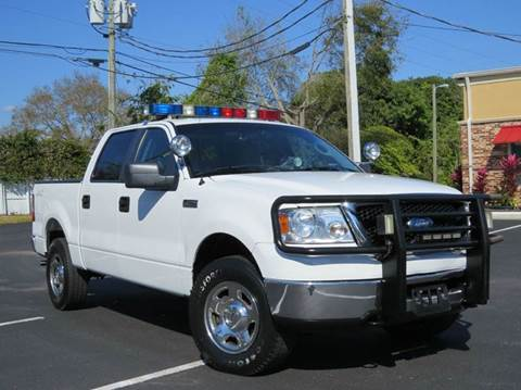2007 Ford F-150 for sale at Copcarsonline in Largo FL