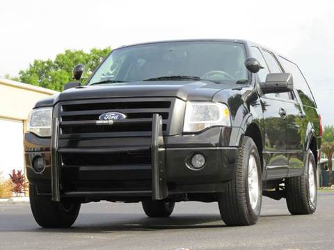2009 Ford Expedition EL for sale at Copcarsonline in Largo FL