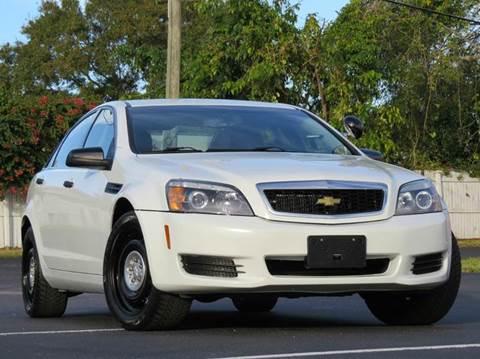 2011 Chevrolet Caprice for sale at Copcarsonline in Largo FL