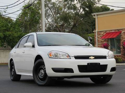 2012 Chevrolet Impala for sale at Copcarsonline in Largo FL