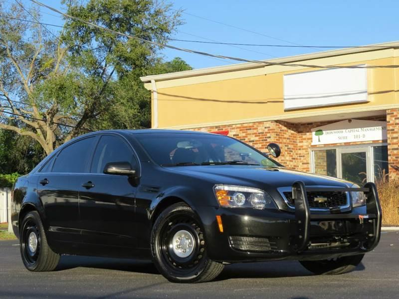 2012 Chevrolet Caprice Police 4dr Sedan W 1sb In Largo Fl