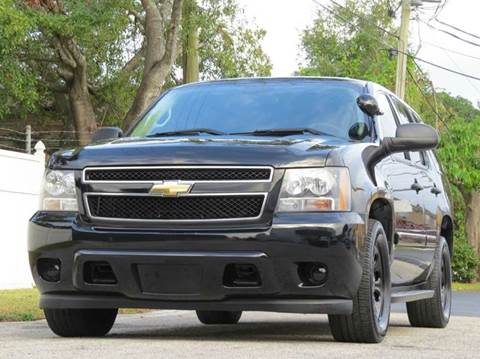 2009 Chevrolet Tahoe for sale at Copcarsonline in Largo FL