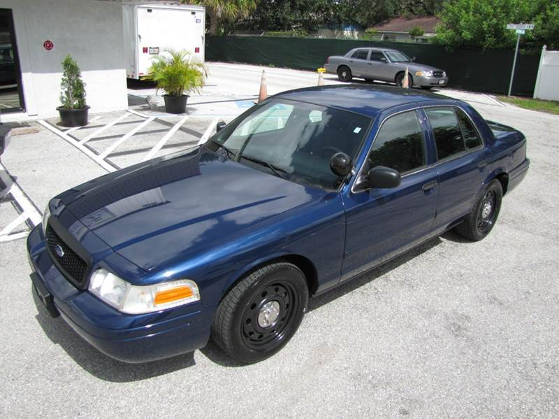2006 Ford Crown Victoria Police Interceptor 4dr Sedan (3.27 axle) w ...