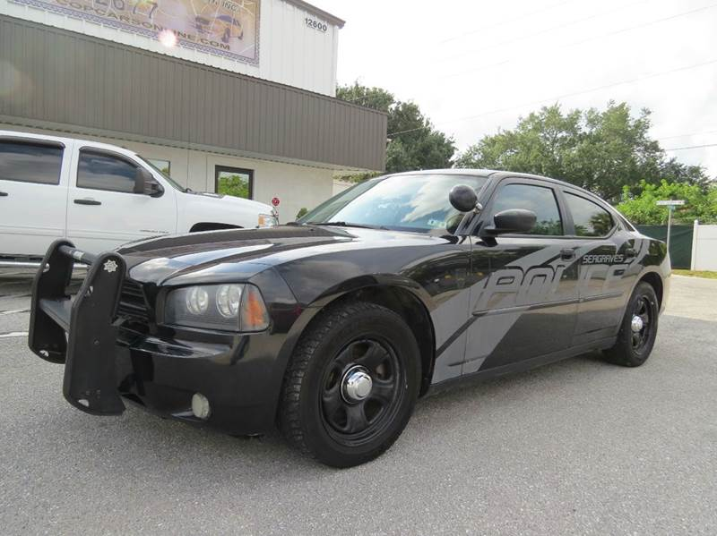 2010 Dodge Charger Police 4dr Sedan In Largo Fl Copcarsonline