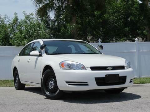 2008 Chevrolet Impala for sale at Copcarsonline in Largo FL