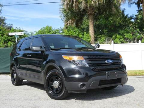 2015 Ford Explorer for sale at Copcarsonline in Largo FL