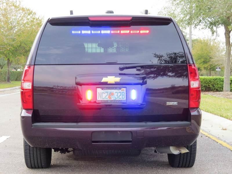 2009 Chevrolet Tahoe Police 4x2 4dr SUV In Largo FL