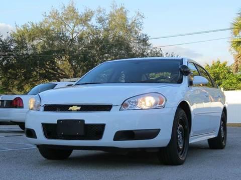 2013 Chevrolet Impala for sale at Copcarsonline in Largo FL
