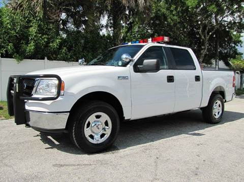 2008 Ford F-150 for sale at Copcarsonline in Largo FL