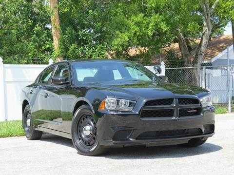 2014 Dodge Charger for sale at Copcarsonline in Largo FL