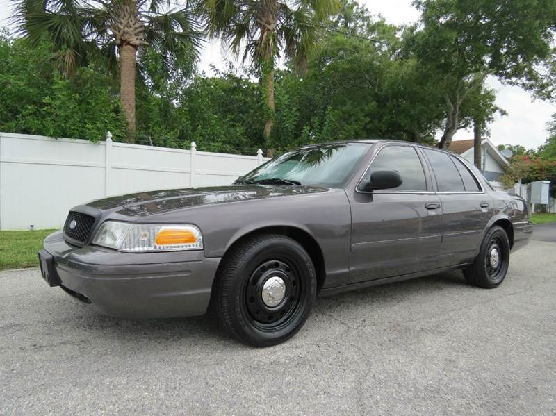 2008 Ford Crown Victoria Police Interceptor 4dr Sedan (3.55 Axle) In ...