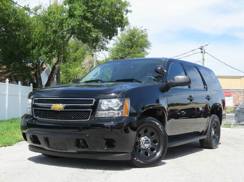 2012 Chevrolet Tahoe Police 4x2 4dr Suv In Largo Fl