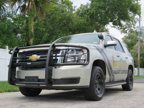 2015 Chevrolet Tahoe for sale at Copcarsonline in Largo FL
