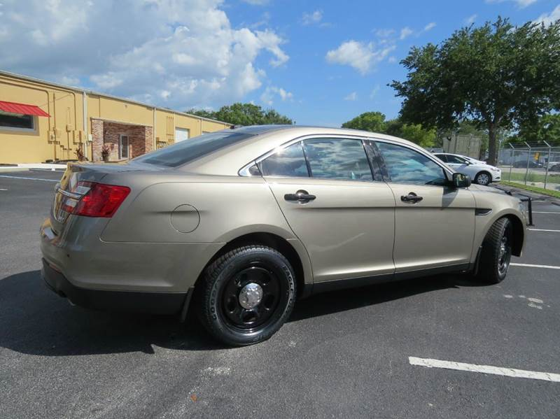 2013 ford taurus police interceptor awd 4dr sedan in largo fl copcarsonline. Black Bedroom Furniture Sets. Home Design Ideas
