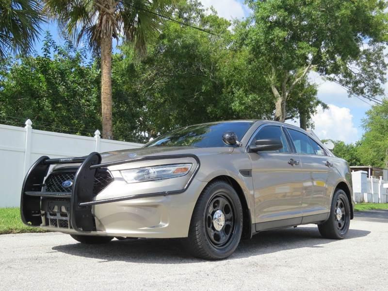 2013 ford taurus police interceptor awd 4dr sedan in largo. Black Bedroom Furniture Sets. Home Design Ideas