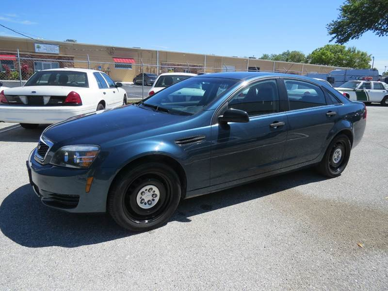 2012 Chevrolet Caprice Police 4dr Sedan W 1sb In Largo Fl