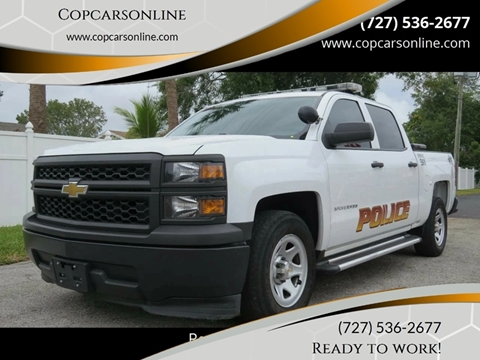 2015 Chevrolet Silverado 1500 for sale at Copcarsonline in Largo FL