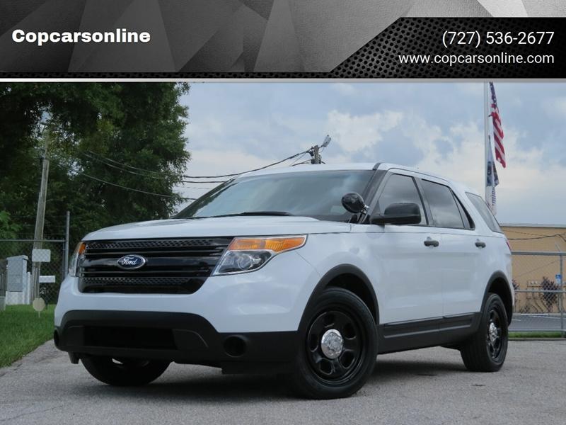 2013 Ford Explorer AWD Police Interceptor 4dr SUV In Largo