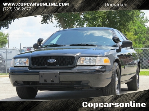 Used Police Vehicles & Ex-Cop Cars for Sale | Copcarsonline