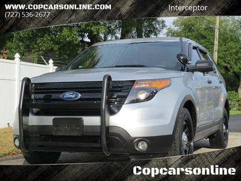 2013 Ford Explorer for sale at Copcarsonline in Largo FL