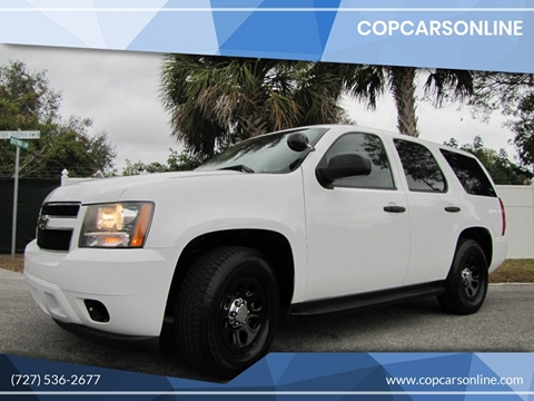 2011 Chevrolet Tahoe for sale at Copcarsonline in Largo FL