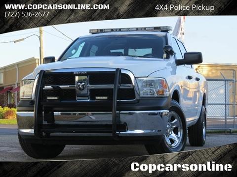 2012 RAM Ram Pickup 1500 for sale at Copcarsonline in Largo FL