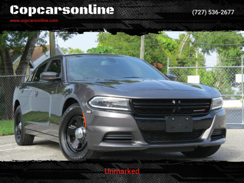 2015 Dodge Charger for sale at Copcarsonline in Largo FL