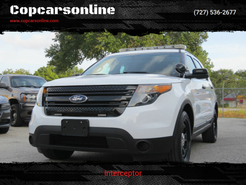2014 Ford Explorer for sale at Copcarsonline in Largo FL