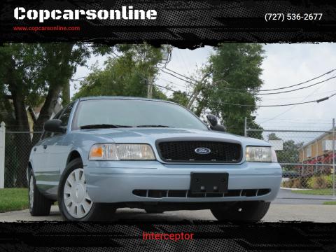 2008 Ford Crown Victoria for sale at Copcarsonline in Largo FL
