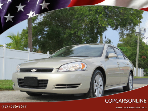 2011 Chevrolet Impala for sale at Copcarsonline in Largo FL