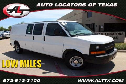 2016 Chevrolet Express Cargo for sale in Plano, TX