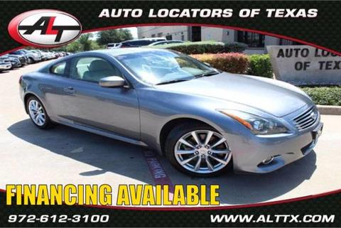 2011 Infiniti G37 Coupe for sale in Plano, TX