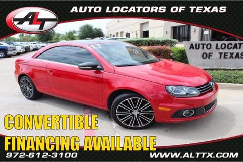 2013 Volkswagen Eos for sale in Plano, TX