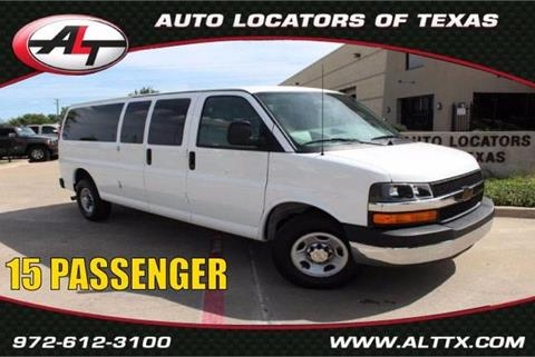 2016 Chevrolet Express Passenger for sale in Plano, TX