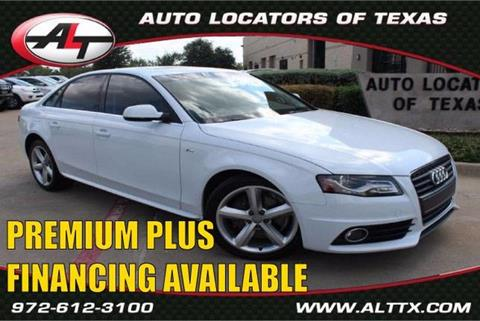 2012 Audi A4 for sale in Plano, TX