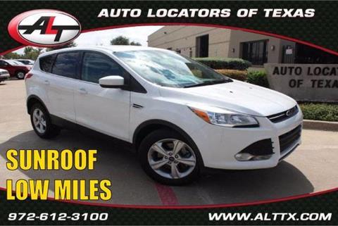 2015 Ford Escape for sale in Plano, TX