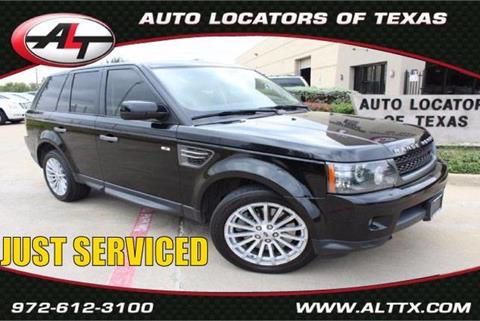 2011 Land Rover Range Rover Sport for sale in Plano, TX