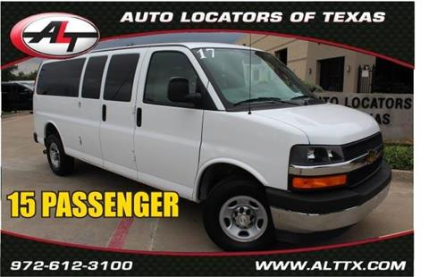 2017 Chevrolet Express Passenger for sale in Plano, TX