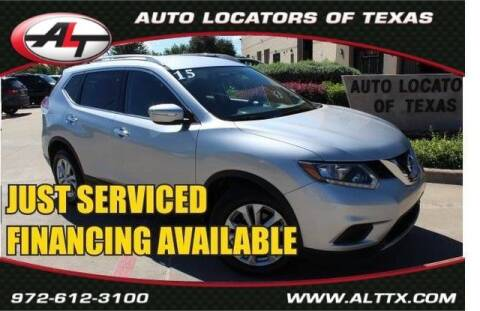 2015 Nissan Rogue for sale at AUTO LOCATORS OF TEXAS in Plano TX