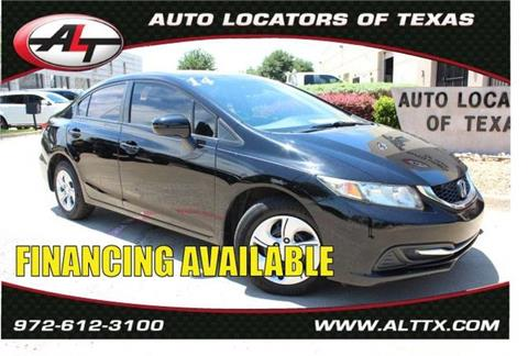 2014 Honda Civic for sale in Plano, TX