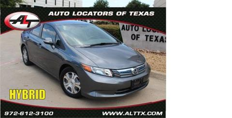 2012 Honda Civic for sale in Plano, TX