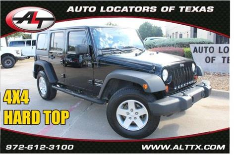 2010 Jeep Wrangler Unlimited for sale in Plano, TX