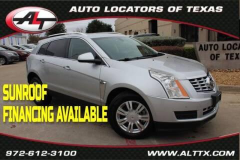 2016 Cadillac SRX for sale at AUTO LOCATORS OF TEXAS in Plano TX