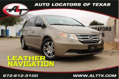 2012 Honda Odyssey for sale at AUTO LOCATORS OF TEXAS in Plano TX