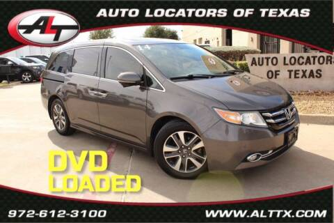 2014 Honda Odyssey for sale at AUTO LOCATORS OF TEXAS in Plano TX