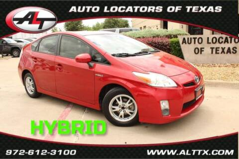 2011 Toyota Prius for sale at AUTO LOCATORS OF TEXAS in Plano TX