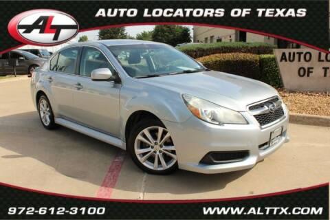 2014 Subaru Legacy for sale at AUTO LOCATORS OF TEXAS in Plano TX
