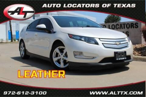 2013 Chevrolet Volt for sale at AUTO LOCATORS OF TEXAS in Plano TX