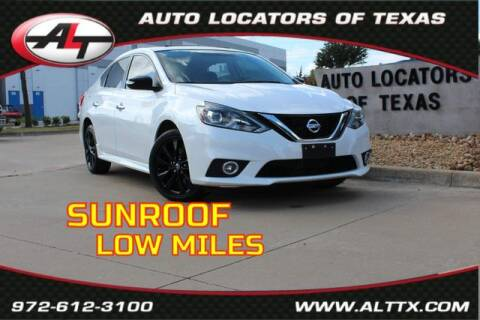2017 Nissan Sentra for sale at AUTO LOCATORS OF TEXAS in Plano TX